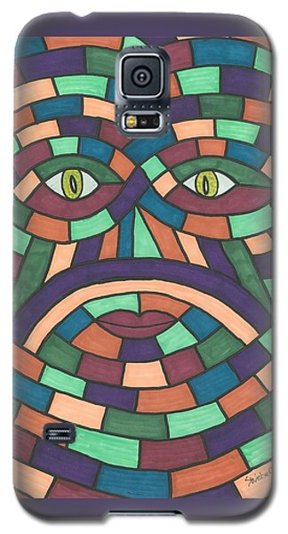 Face In The Maze Galaxy S5 Case