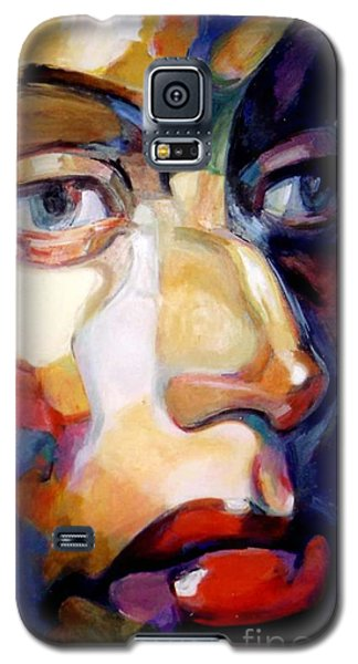 Face Of A Woman Galaxy S5 Case by Stan Esson