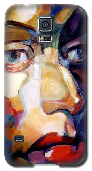Face Of A Woman Galaxy S5 Case