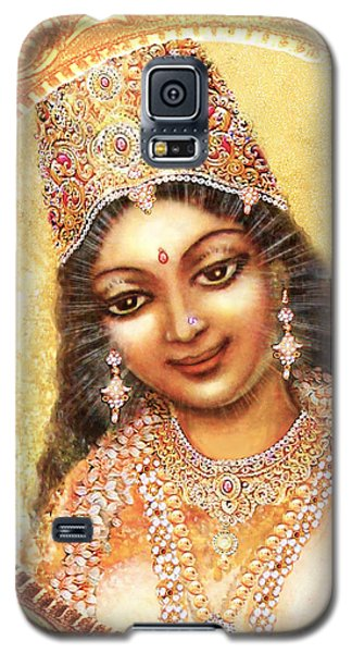 Face Of The Goddess - Lalitha Devi  Galaxy S5 Case by Ananda Vdovic