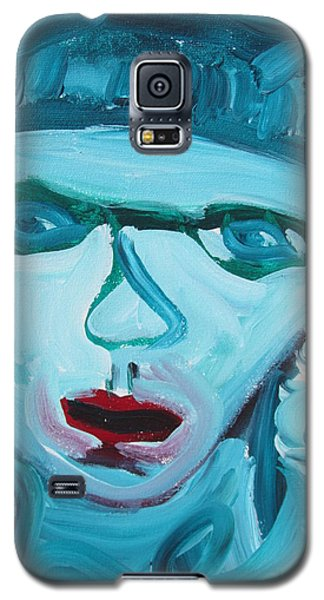 Face Two Galaxy S5 Case by Shea Holliman