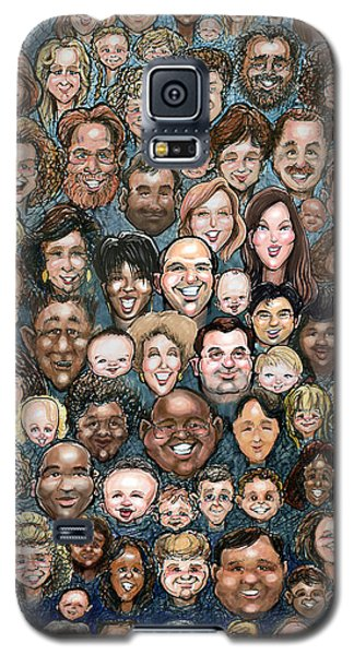 Faces Of Humanity Galaxy S5 Case