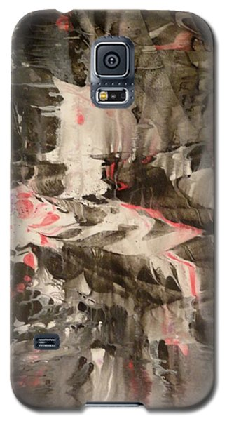 Galaxy S5 Case featuring the painting Facial Expressions by Mike Breau