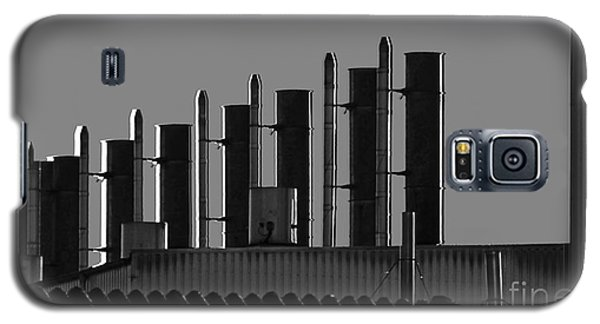 Factory Chimneys On The Roofs Galaxy S5 Case