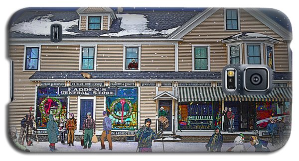 Faddens General Store In North Woodstock Nh Galaxy S5 Case by Nancy Griswold