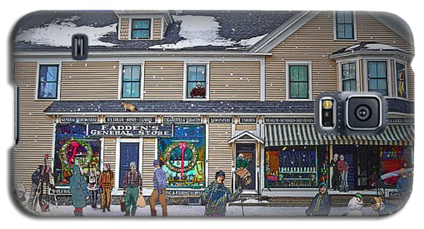 Faddens General Store In North Woodstock Nh Galaxy S5 Case