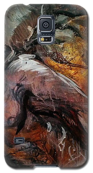 Galaxy S5 Case featuring the painting Fade by Dawn Fisher