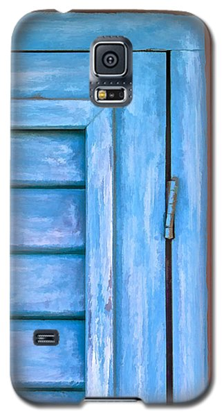 Faded Blue Shutter IIi Galaxy S5 Case