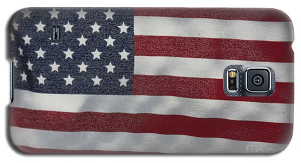 Faded Old Glory Galaxy S5 Case by Jerry Bunger