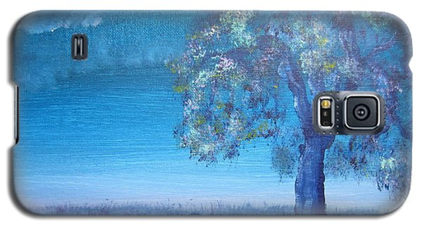Galaxy S5 Case featuring the painting Fading Light by Laurianna Taylor
