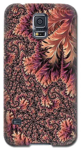 Galaxy S5 Case featuring the digital art Faerie Forest Floor Ill by Susan Maxwell Schmidt