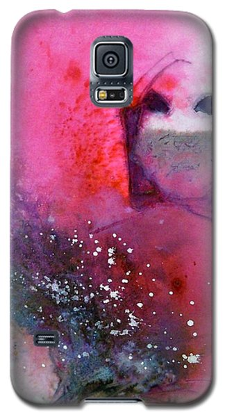 Galaxy S5 Case featuring the painting Shala by Ed  Heaton