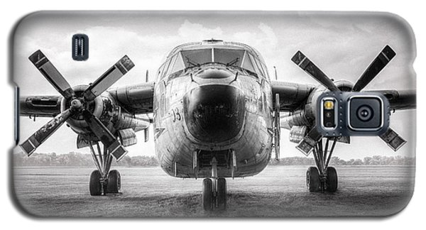 Galaxy S5 Case featuring the photograph Fairchild C-119 Flying Boxcar - Military Transport by Gary Heller