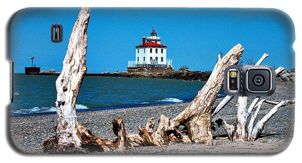 Fairport Harbor Lighthouse 2 Galaxy S5 Case by Michelle Joseph-Long