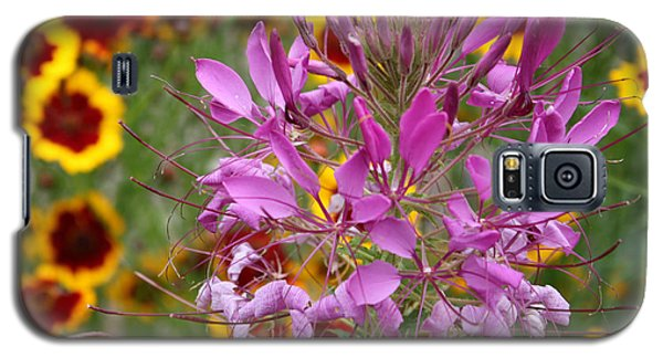 Galaxy S5 Case featuring the photograph Fairy Flower by Susan Alvaro