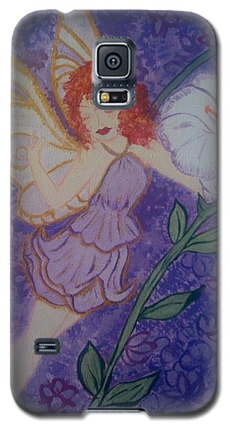 Galaxy S5 Case featuring the painting Fairy Harmony  by Judi Goodwin