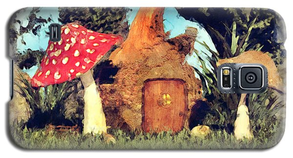 Fairy House With Toadstool Galaxy S5 Case