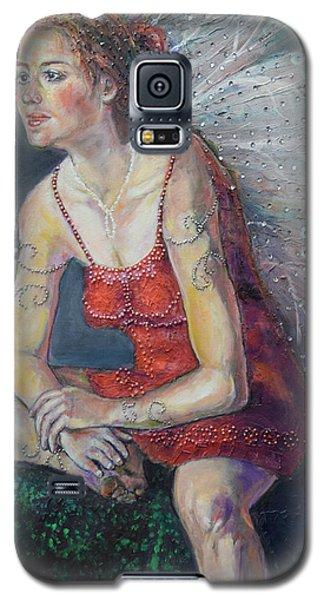 Fairy On A Stone Galaxy S5 Case