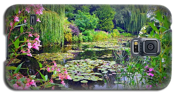 Fairy Tale Pond With Water Lilies And Willow Trees Galaxy S5 Case