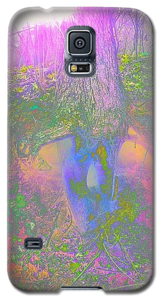 Galaxy S5 Case featuring the photograph Fairy Tree by Karen Newell