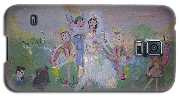 Fairy Wedding Galaxy S5 Case by Judith Desrosiers