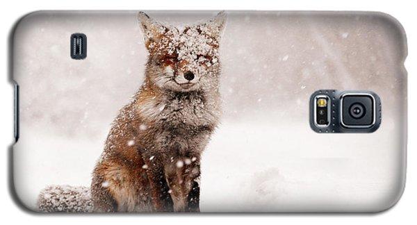 Fairytale Fox _ Red Fox In A Snow Storm Galaxy S5 Case