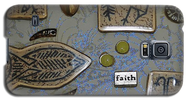 Faith Collage Galaxy S5 Case