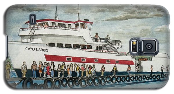 Fajardo Ferry From Vieques Puerto Rico Galaxy S5 Case