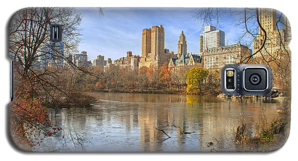Fall Afternoon At Central Park Galaxy S5 Case