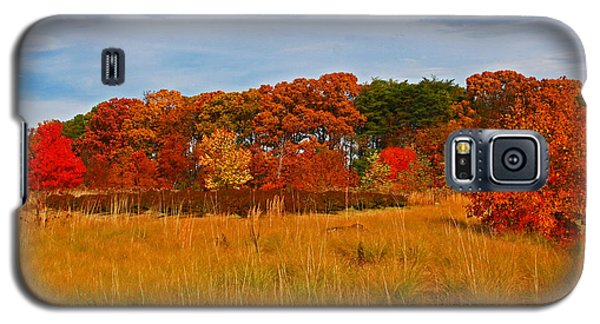 Galaxy S5 Case featuring the photograph Fall Along The Highway by Andy Lawless