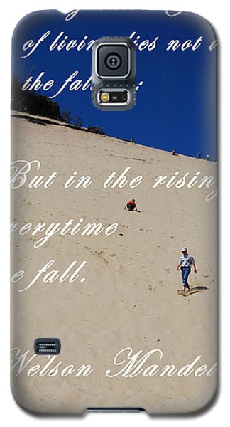 Fall And Rise Galaxy S5 Case