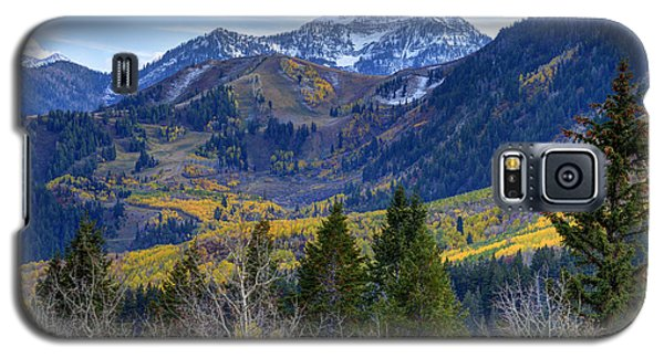 Fall At Cascade Peak And Sundance From Alpine Loop  Galaxy S5 Case