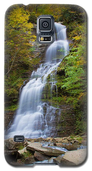 Fall At Cathedral Falls Galaxy S5 Case