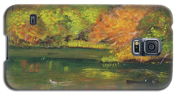 Fall At Dorrs Pond Galaxy S5 Case