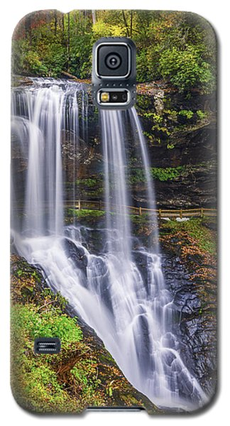 Dry Falls In Autumn Galaxy S5 Case by Anthony Heflin