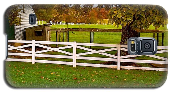 Fall At Eisenhower Farm Galaxy S5 Case by Amazing Photographs AKA Christian Wilson