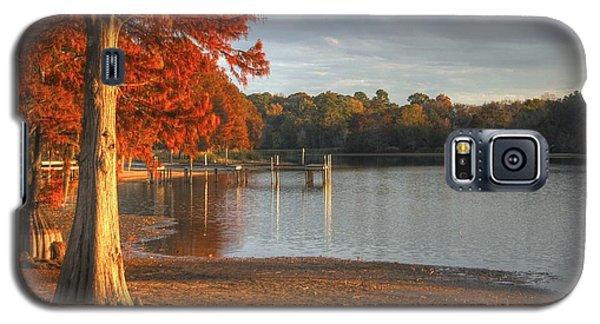 Fall At Georgia Lake Galaxy S5 Case by Donald Williams