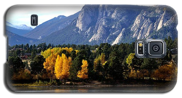 Fall At Lake Estes Galaxy S5 Case