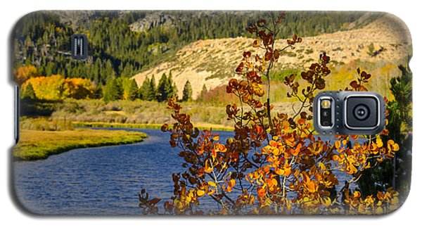 Fall At North Lake Galaxy S5 Case