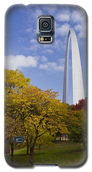 Fall At The St Louis Arch Galaxy S5 Case