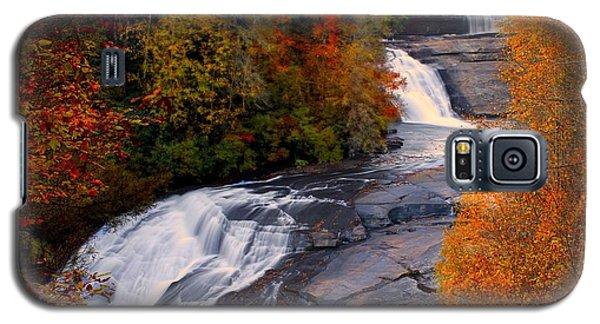 Fall At Triple Falls Galaxy S5 Case