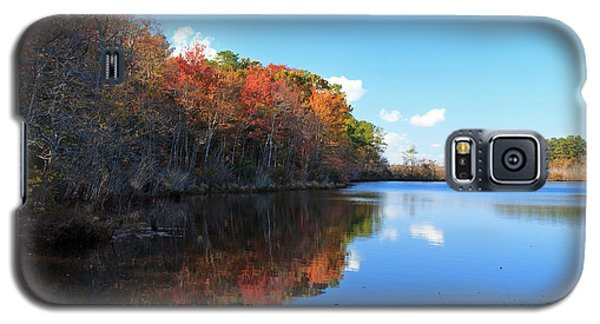 Fall At Turkel Pond Galaxy S5 Case