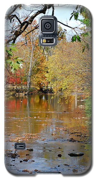 Galaxy S5 Case featuring the photograph Fall  Begins by Kathy Gibbons