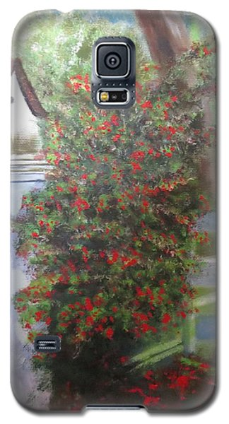 Galaxy S5 Case featuring the painting Fall Berries by Sharon Schultz