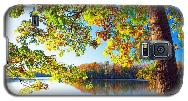 Fall By The Lake Galaxy S5 Case