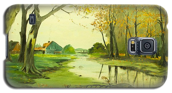 Fall By The Stream By Merlin Reynolds Galaxy S5 Case
