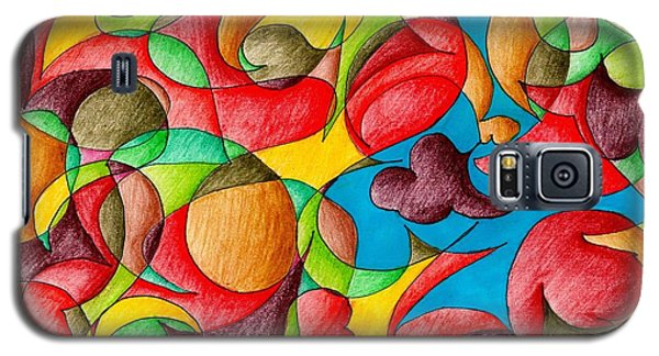 Fall Celebration Galaxy S5 Case