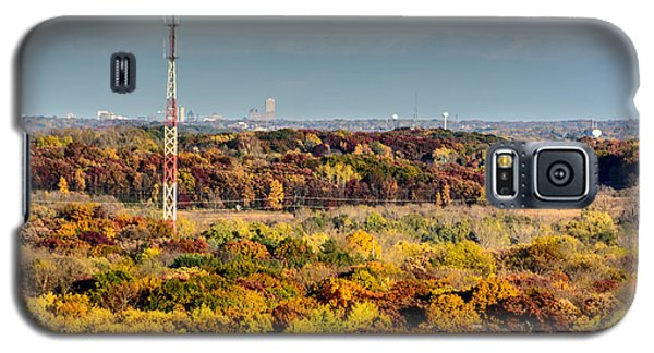 Fall Color And Downtown Galaxy S5 Case