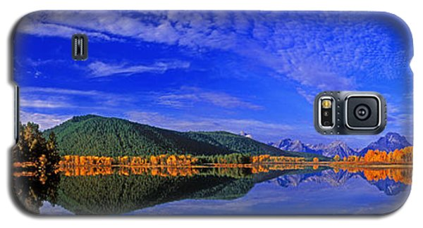Galaxy S5 Case featuring the photograph Fall Color Oxbow Bend Grand Tetons National Park Wyoming by Dave Welling