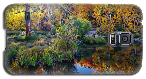 Fall Color Reflection Along Bishop Creek Galaxy S5 Case